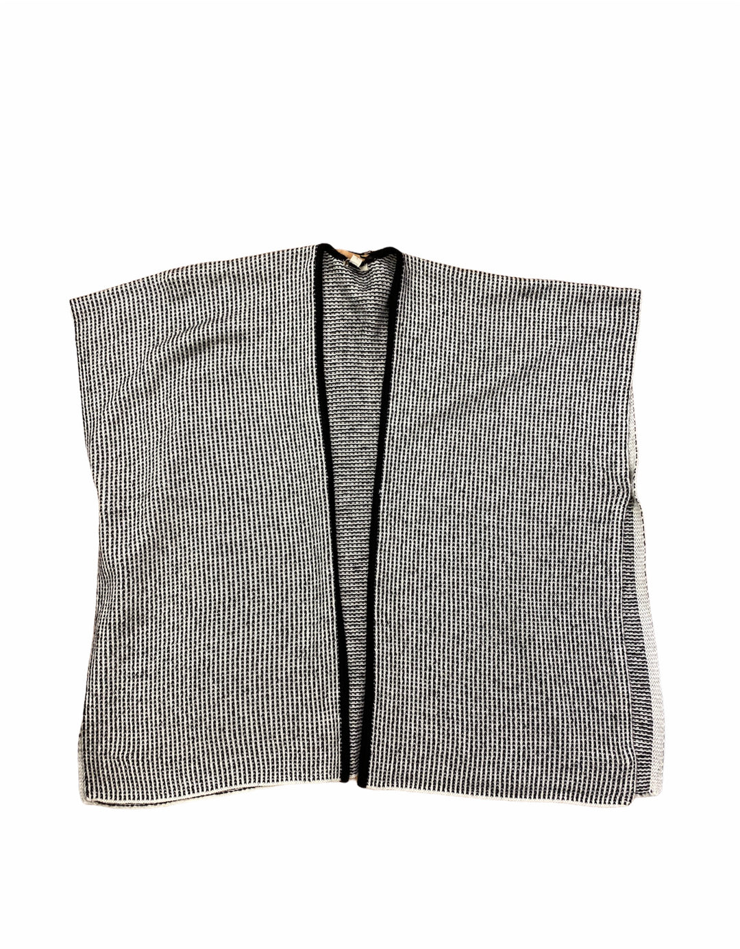 Primary Photo - BRAND: LOFT <BR>STYLE: SWEATER CARDIGAN HEAVYWEIGHT <BR>COLOR: BLACK WHITE <BR>SIZE: XS <BR>SKU: 223-22393-5110