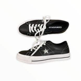Primary Photo - BRAND: CONVERSE STYLE: SHOES ATHLETIC COLOR: BLACK SIZE: 7.5 OTHER INFO: SILVER STAR SKU: 223-22343-20790