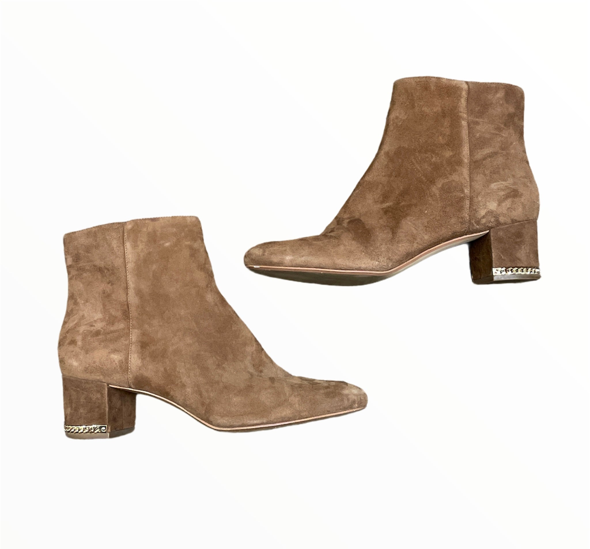 Primary Photo - BRAND: MICHAEL KORS <BR>STYLE: BOOTS ANKLE <BR>COLOR: CAMEL <BR>SIZE: 11 <BR>SKU: 223-22364-43323