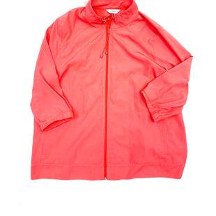 Primary Photo - BRAND: CJ BANKS STYLE: JACKET OUTDOOR COLOR: HOT PINK SIZE: 2X SKU: 223-22393-832