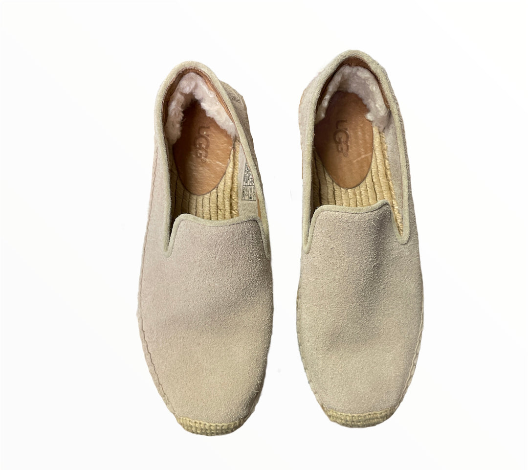 Photo #1 - BRAND: UGG <BR>STYLE: SHOES LOW HEEL <BR>COLOR: TAUPE <BR>SIZE: 6 <BR>SKU: 223-22318-121985