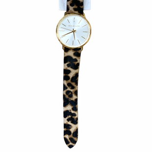 Primary Photo - BRAND: MICHAEL BY MICHAEL KORS STYLE: WATCH COLOR: ANIMAL PRINT OTHER INFO: GOLD SKU: 223-22343-22188
