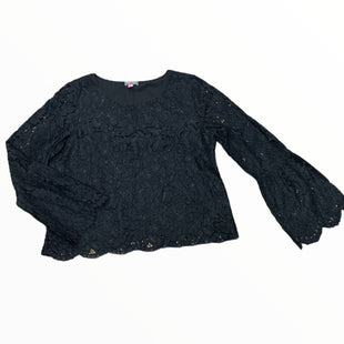 Primary Photo - BRAND: VINCE CAMUTO STYLE: TOP LONG SLEEVE COLOR: BLACK SIZE: L SKU: 223-22393-6787