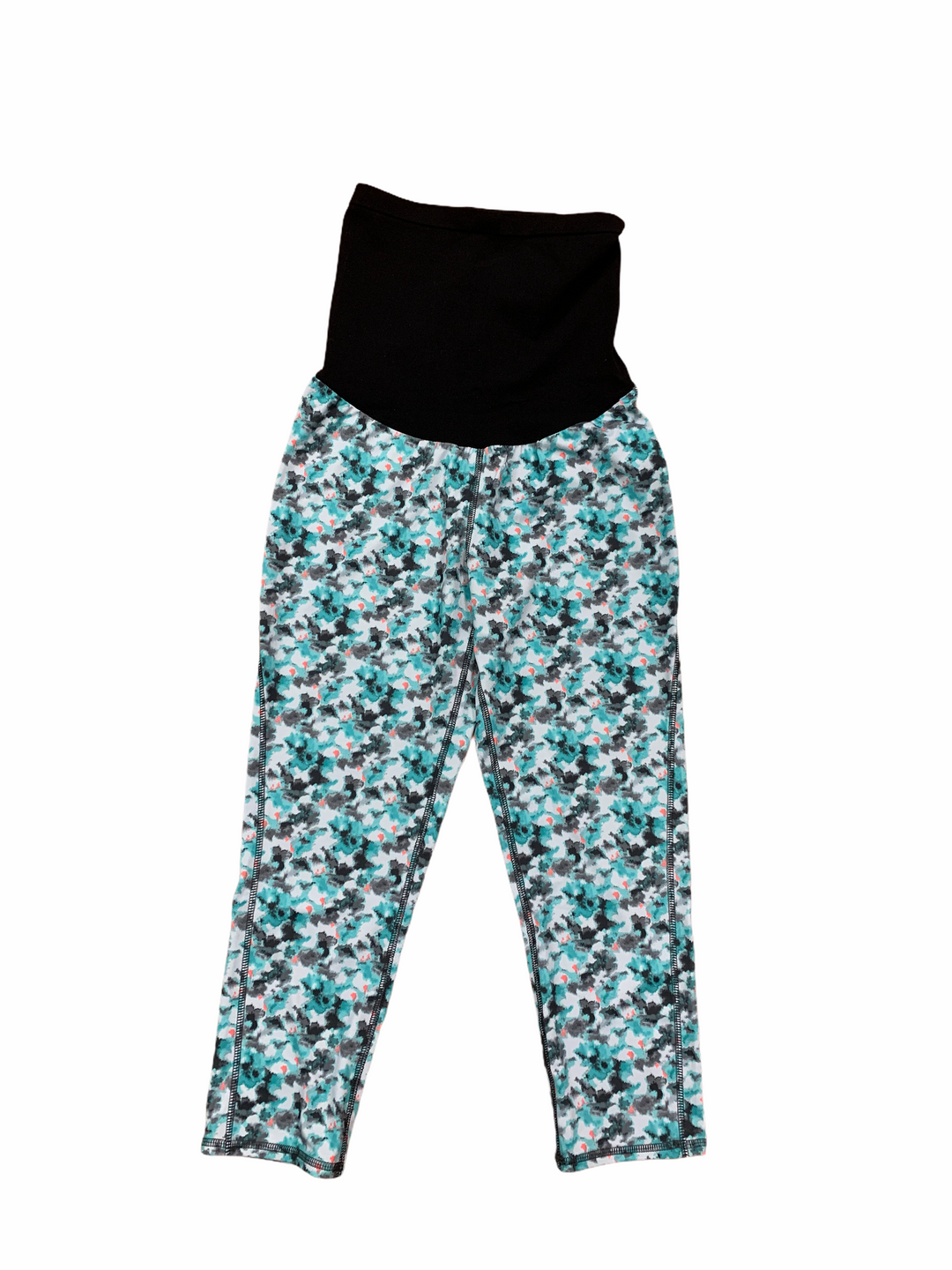 Primary Photo - BRAND: OH BABY BY MOTHERHOOD <BR>STYLE: ATHLETIC CAPRIS <BR>COLOR: BLUE GREEN <BR>SIZE: S <BR>SKU: 223-22318-117877