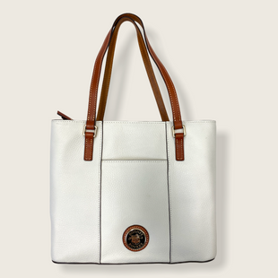 Primary Photo - BRAND: DOONEY AND BOURKE STYLE: HANDBAG DESIGNER COLOR: CREAM SIZE: MEDIUM OTHER INFO: SMALL LEXINGTON SKU: 223-22343-20526