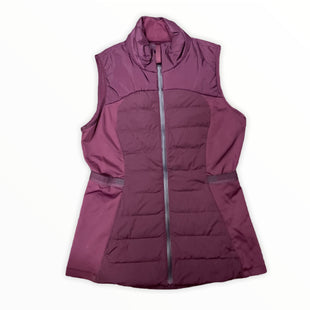 Primary Photo - BRAND: LULULEMON STYLE: VEST DOWN COLOR: MAROON SIZE: S SKU: 223-22364-42774