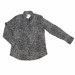 Primary Photo - BRAND: J CREW O STYLE: TOP LONG SLEEVE COLOR: BLACK WHITE SIZE: M SKU: 223-22370-15888