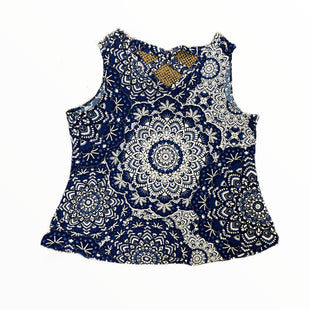 Primary Photo - BRAND: WESTPORT STYLE: TOP SLEEVELESS COLOR: WHITE BLUE SIZE: 3X SKU: 223-22318-123050