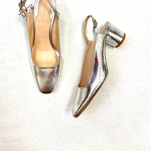 Primary Photo - BRAND: ZARA WOMEN STYLE: SHOES LOW HEEL COLOR: SILVER SIZE: 8.5 SKU: 223-22370-10707