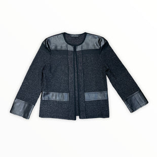 Primary Photo - BRAND: MING WANG STYLE: JACKET OUTDOOR COLOR: BLACK SILVER SIZE: XS SKU: 223-22318-121139