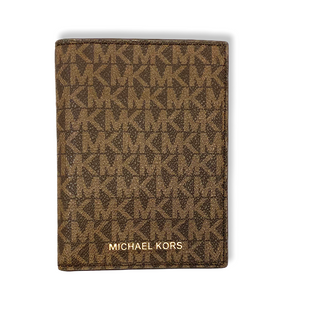 Primary Photo - BRAND: MICHAEL BY MICHAEL KORS STYLE: WALLET COLOR: MONOGRAM SIZE: SMALL OTHER INFO: PASSPORT COVER SKU: 223-22318-109852
