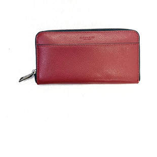 Primary Photo - BRAND: COACH STYLE: WALLET COLOR: RUST SIZE: MEDIUM SKU: 223-22370-10612