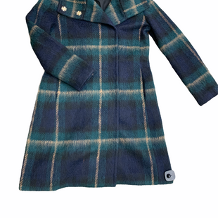 Primary Photo - BRAND: ANN TAYLOR STYLE: COAT WOOL COLOR: PLAID SIZE: S OTHER INFO: GREEN/TAN/NAVY SKU: 223-22318-113022