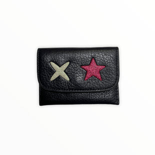 Primary Photo - BRAND: COACH STYLE: WALLET COLOR: NAVY SIZE: SMALL OTHER INFO: CARD HOLDER/STARS SKU: 223-22318-120455