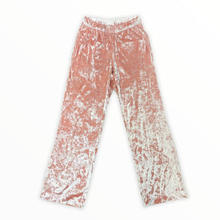 Primary Photo - BRAND: VICTORIAS SECRET STYLE: ATHLETIC PANTS COLOR: PINK SIZE: XS OTHER INFO: CRUSHED VELVET SKU: 223-22318-122988