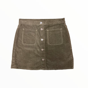 Primary Photo - BRAND: MOTHER JEANS STYLE: SKIRT COLOR: BROWN SIZE: 4 SKU: 223-22318-122087