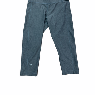 Primary Photo - BRAND: UNDER ARMOUR STYLE: ATHLETIC CAPRIS COLOR: GREY SIZE: L SKU: 223-22361-18568