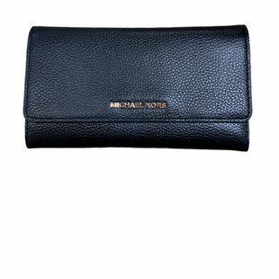 Primary Photo - BRAND: MICHAEL BY MICHAEL KORS STYLE: WALLET COLOR: BLACK SIZE: LARGE SKU: 223-22318-119866