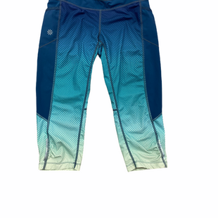 Primary Photo - BRAND: ATHLETA STYLE: ATHLETIC CAPRIS COLOR: BLUE GREEN SIZE: XXS OTHER INFO: YELLOW SKU: 223-22318-116076