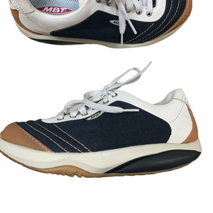 Primary Photo - BRAND:   CMC STYLE: SHOES ATHLETIC COLOR: MULTI SIZE: 9.5 OTHER INFO: MBT - NAVY CREAM CAMEL SKU: 223-22364-40666