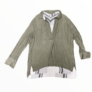 Primary Photo - BRAND: FREE PEOPLE STYLE: TOP LONG SLEEVE COLOR: MULTI SIZE: S OTHER INFO: SAGE/BLK SKU: 223-22343-22638