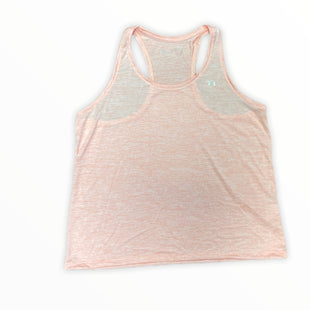 Primary Photo - BRAND: UNDER ARMOUR STYLE: ATHLETIC TANK TOP COLOR: MELON SIZE: 1X SKU: 223-22343-22391