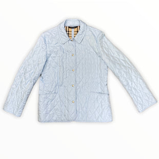 Primary Photo - BRAND: BURBERRY STYLE: JACKET OUTDOOR COLOR: BABY BLUE SIZE: M SKU: 223-22318-120576