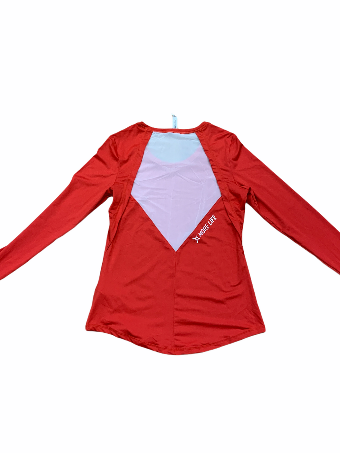 Photo #1 - BRAND:   CMC <BR>STYLE: ATHLETIC TOP <BR>COLOR: RED WHITE <BR>SIZE: S <BR>OTHER INFO: ORANGE THEORY - <BR>SKU: 223-22361-19154