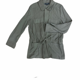 Jacket Outdoor By Max Studio  Size: L - BRAND: MAX STUDIO STYLE: JACKET OUTDOOR COLOR: OLIVE SIZE: L SKU: 223-22393-4653