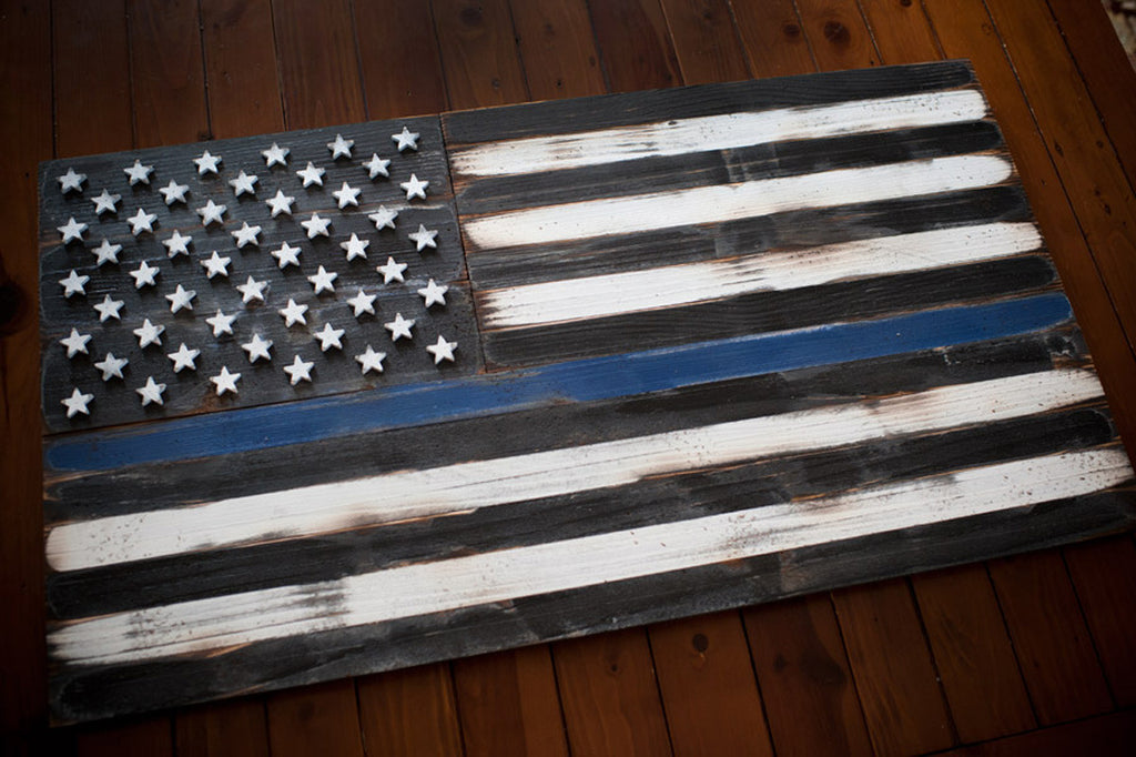 c9da1e1b404 The Thin Blue Line Emblem s Meaning – Patriot Wood