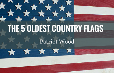 5 oldest national flags
