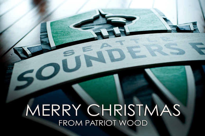 Merry Christmas from Patriot Wood