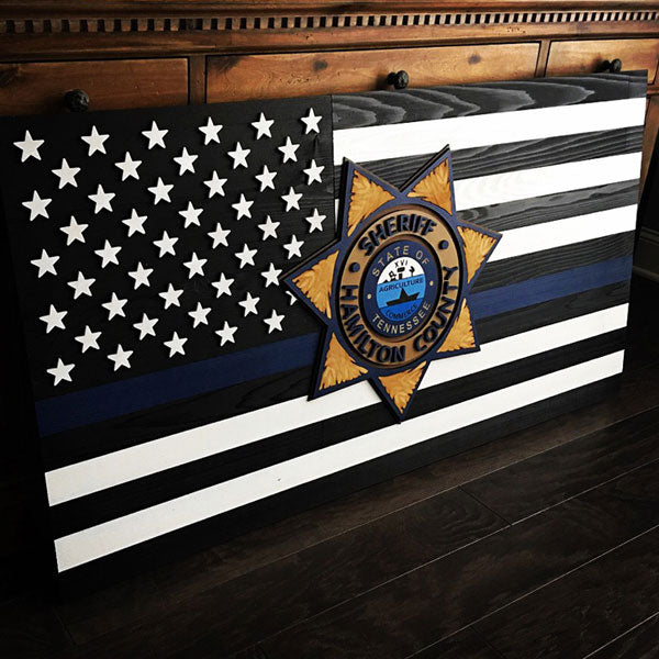 Custom Wooden Flag by Patriot Wood