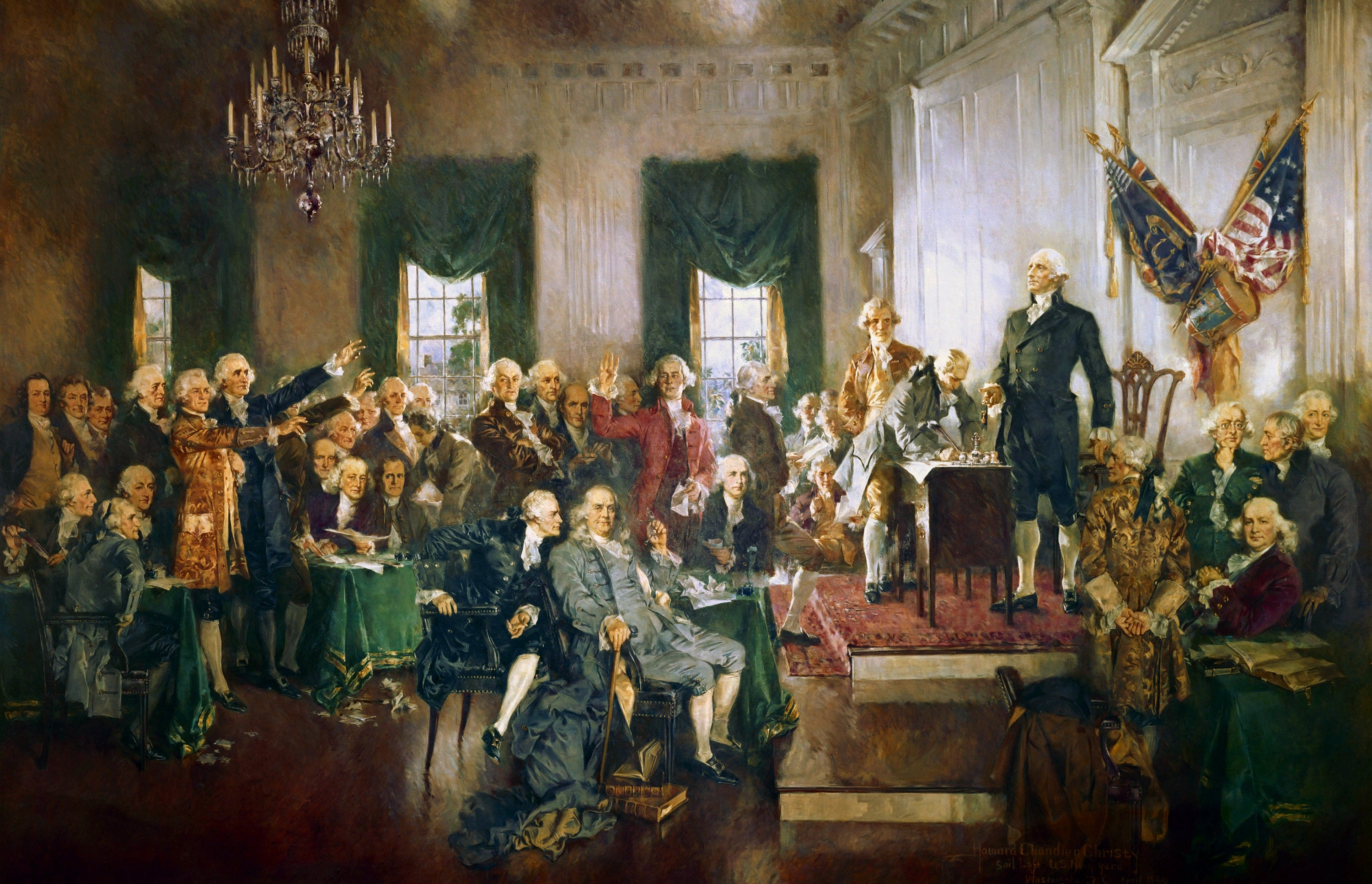 6 quotes about peace from Founding Fathers