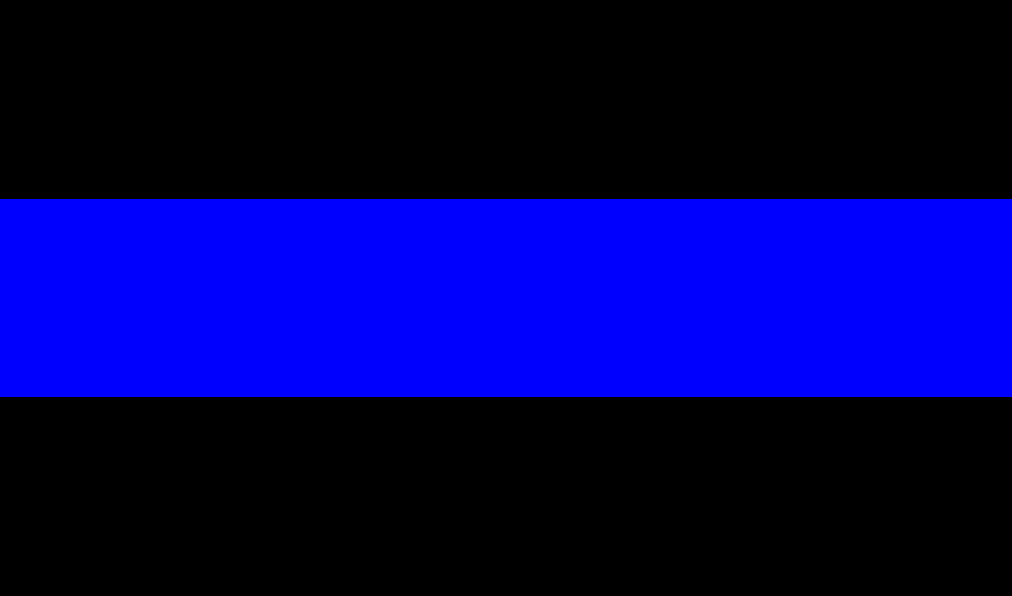 The Thin Blue Line emblem