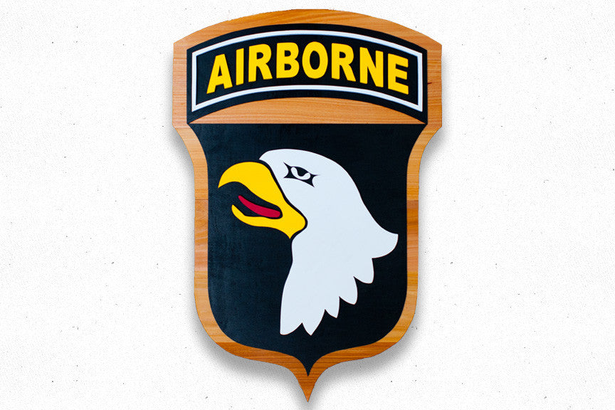 101st Airborne Division Wood Patch