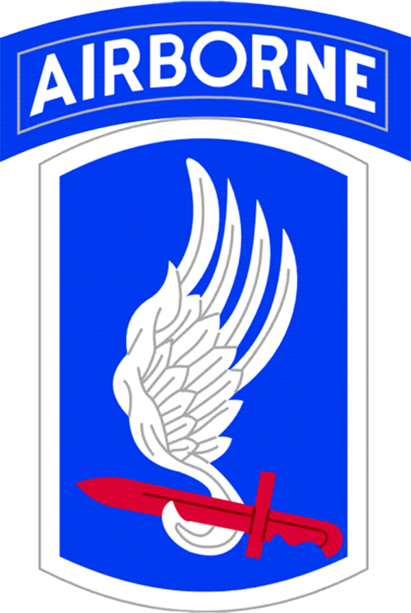 173rd Airborne Brigade Wood Patch