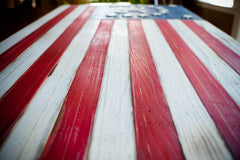 Bennington Vintage Wooden Flag by Patriot Wood