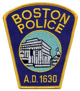 Boston Police Wood Patch
