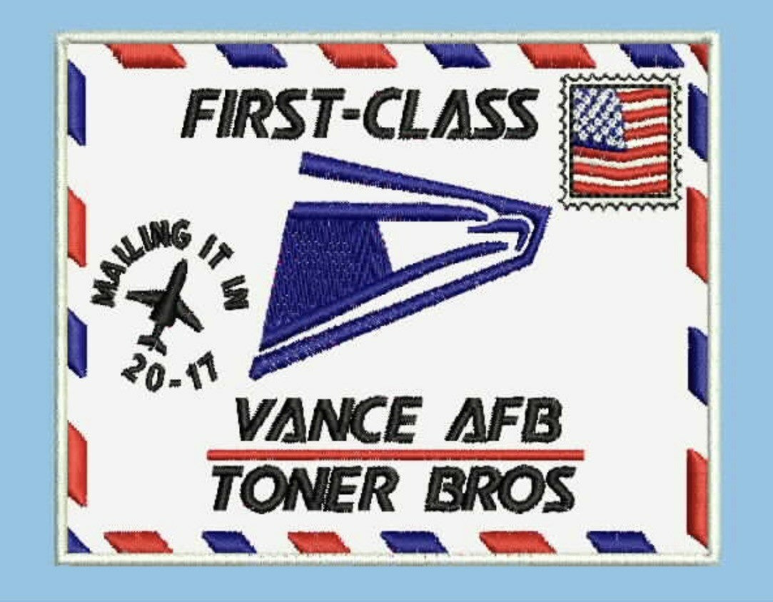 USAF Pilot Class 20-17 Custom Wood Patch
