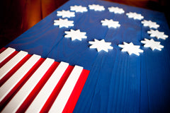 Easton wooden flag by Patriot Wood