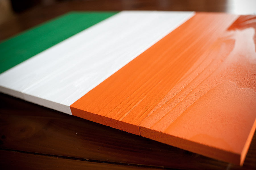 Ireland wood-flag details from Patriot Wood