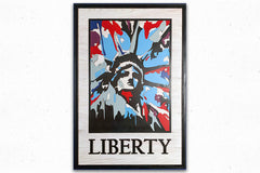 LIBERTY Wood Wall Art