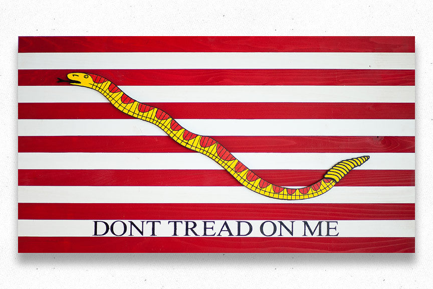 Navy Jack Wood Flag, Navy Jack wooden flag by Patriot Wood