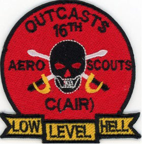 Outcasts 16th Aero Scouts C Wood Patch