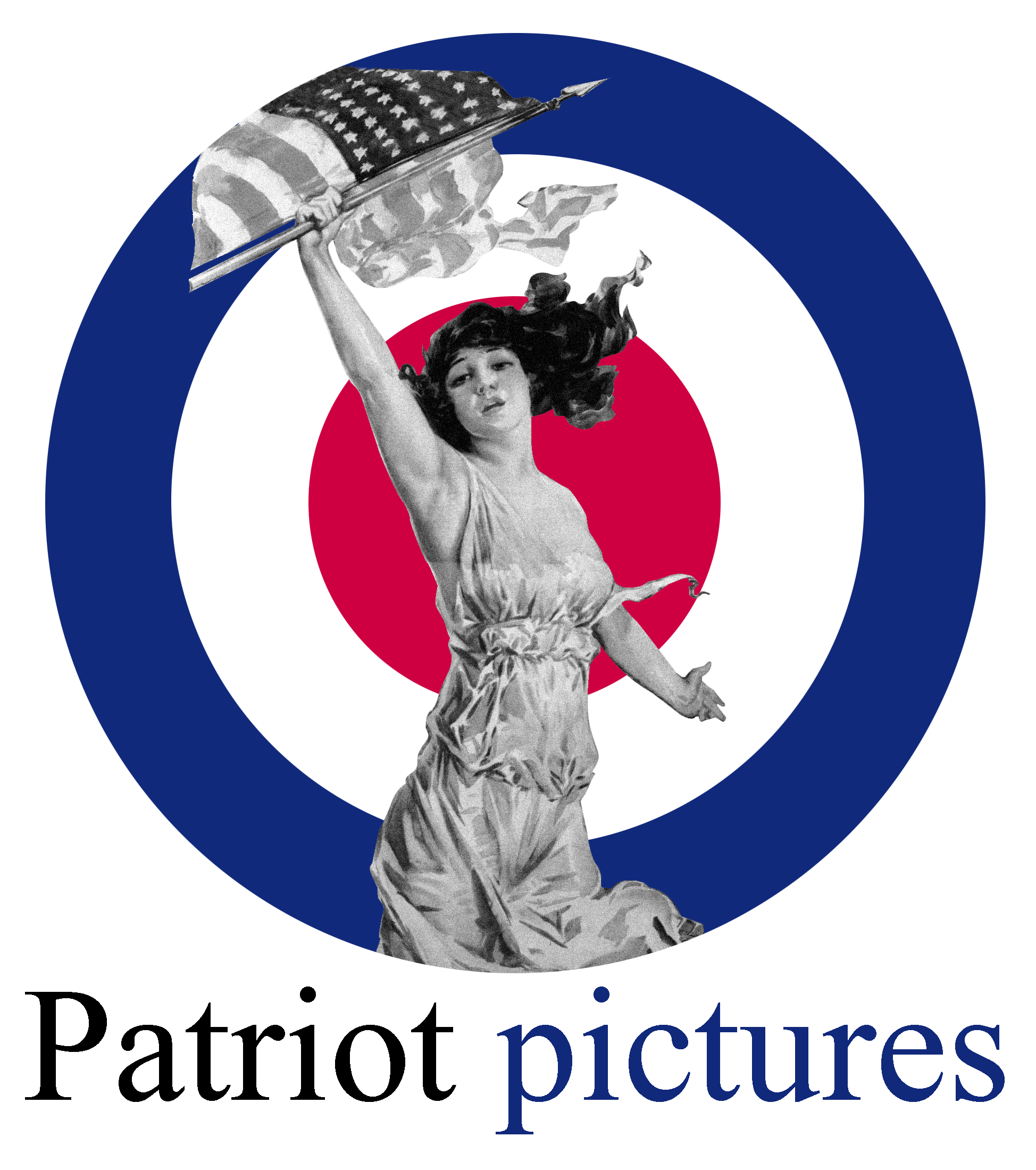 Patriot Pictures Wood Logo