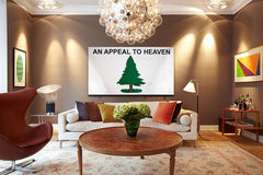 Pine Tree Wood Flag, Pine Tree wooden flag by Patriot Wood