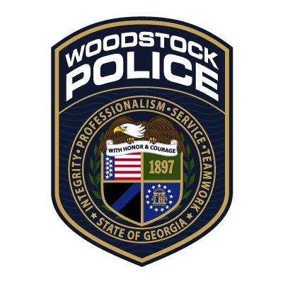 Woodstock Police Dept Wood Patch