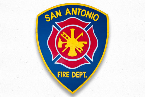 San Antonio Fire Department Wood Patch