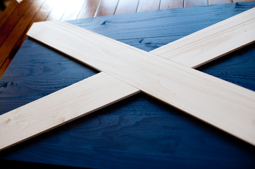 Scotland Wood Flag detail | Patriot Wood